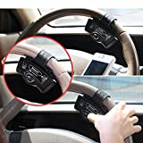 Ocamo MP3 Player for iPhone Samsung And Smart Phones Black Steering Wheel Bluetooth Handsfree Speakerphone Car Kits