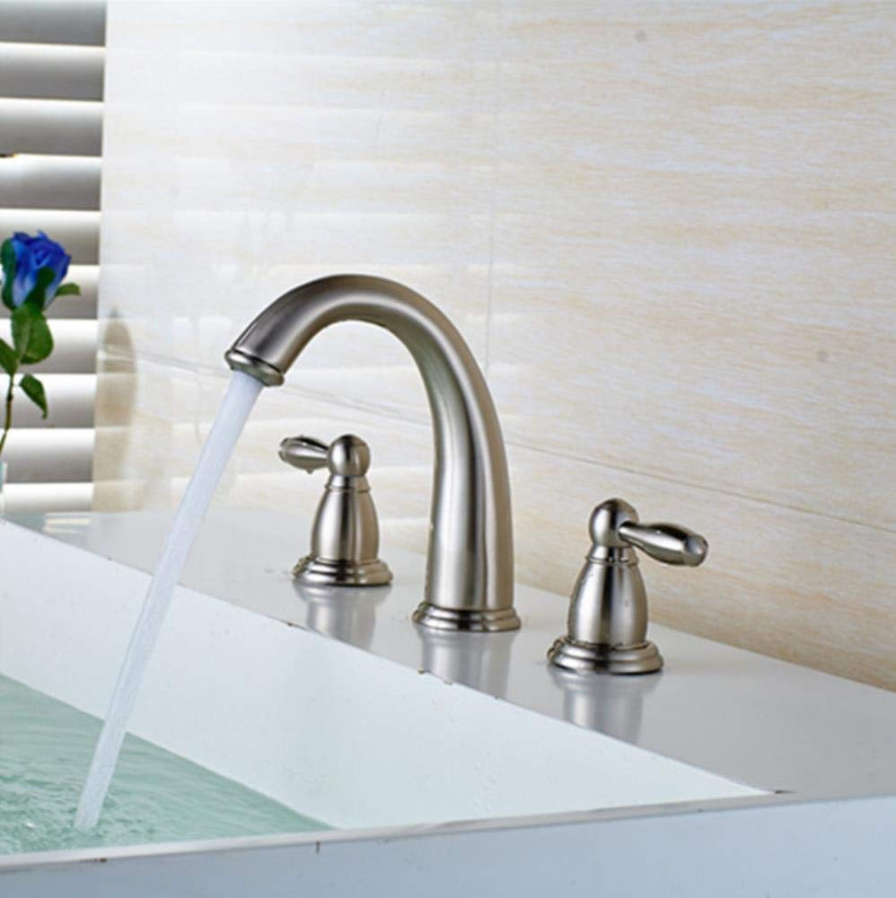 Installations salles de bain lddpl Xueqin Bathroom Waterfall Basin Sink Mixer Tap Faucet Chrome Polished Glass Edge Faucet Tap With Water Inlet Pipe