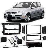 Volkswagen Rabbit 2006-2009 Single or Double DIN Stereo Radio Install Dash Kit