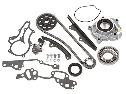 (Evergreen TK2000HPOP Fits Toyota 22R Heavy Duty Timing Chain Kit w/Oil Pump)
