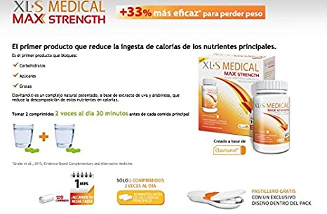 Amazon.com: XLS Medical Max Strength - ONE MONTH - 120 Tablets by XLS: Health & Personal Care