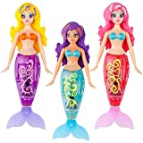 Robo My Magical Mermaid Set of 3 Shelly Corissa and Pearl