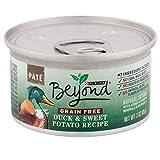 Purina Beyond Grain Free, Natural Pate Wet Cat Food, Grain Free Duck & Sweet Potato Recipe - (12) 3 oz. Cans