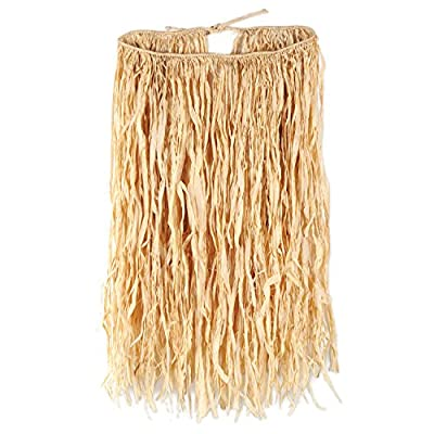 Beistle 38-Inch by 30-Inch Raffia Hula Skirt for Halloween Party, X-Large