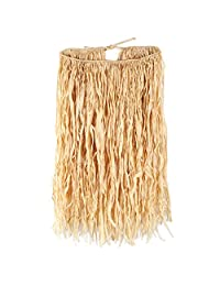 Beistle 50452 Raffia Hula Skirt for Halloween Party, X-Large, 38 inch by 30 inch