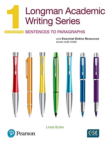 - Longman Academic Writing Series 1: Sentences to Paragraphs, with Essential Online Resources (2nd Edition)