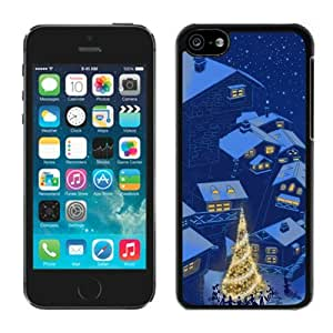 Provide Personalized Customized Iphone 5C TPU Case Christmas Eve party Black iPhone 5C Case 1