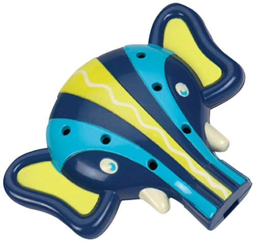 Toysmith Elephant Ocarina Whistle TSM68660