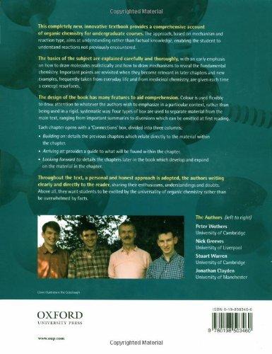 Clayden Organic Chemistry Books Pdf
