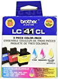 Brother LC41 Color 3 Pack 1 each Cy