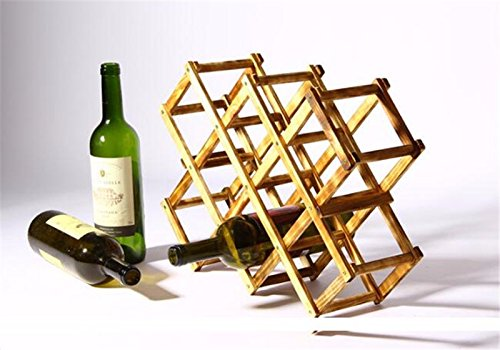 Wooden Red Wine Rack Bottle Holder Mount Kitchen Bar Cabinet European Creative Gift Buckets, Coolers And Holders