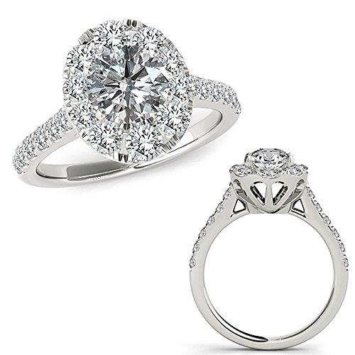 2.12 Carat G-H Diamond Cute De