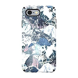 Speck Presidio Inked iPhone 6S Plus/7 Plus/8 Plus Case (Mountain Range/Black)