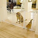 Carlson Maxi Walk-Thru Gate with Pet Door