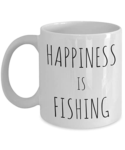 Perfect Funny Gifts Funny Fisherman Gift - Fishing Lover Coffee Mug - Fish Gag Birthday Gifts