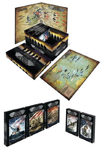 Battle Frontier Box (Battle Ground Collection - 16-DVD Box Set ( Battle Ground: Pacific Ocean / The Southwest Pacific / Wings Over Europe / The Battle of the Atlantic / North Africa and Italy / The Battle of Britain / The German Frontier / Axis Rising 1939 - 19)