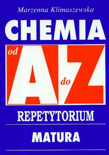 Chemia A-Z Repetytorium matura