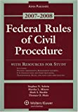 Federal Rules of Civil Procedure 2007-2008, Subrin, Stephen N., 0735570418