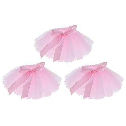 1c31b5c527 Amazon.com: MonkeyJack 3pcs Tulle Wine Bottle Tutu Skirt Bottle Cover Table  Centerpiece Decoration - Pink: Home & Kitchen