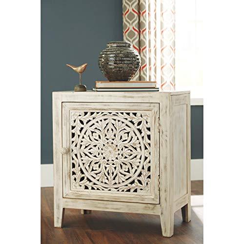 Ashley Furniture Signature Design - Fossil Ridge Accent Cabinet - White