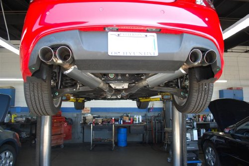 STILLEN 508185 Stainless Steel Cat-Back Exhaust System - 10-13 Genesis Coupe V6 ()