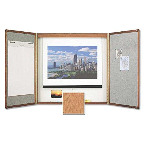 (Quartet Premium Conference Room Cabinet - 48 x 48 in.)