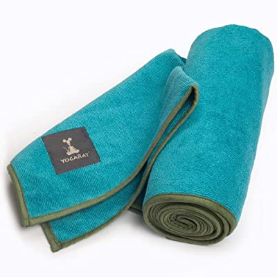 "YogaRat 100% Microfiber HOT YOGA TOWELS - Available separately in two sizes: Mat Length (25"" x 72"") and Hand Size (16"" x 25"") from YogaRat"