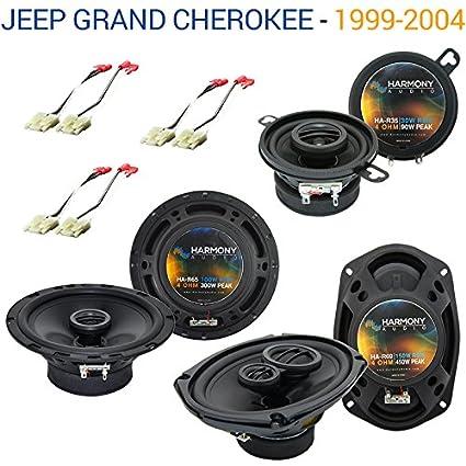 2002 jeep grand cherokee speakers size