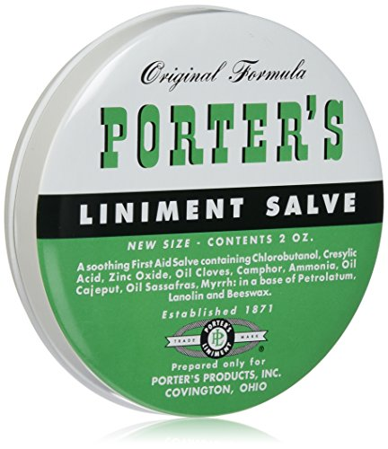 - Porter's Liniment Salve, 2 Ounce