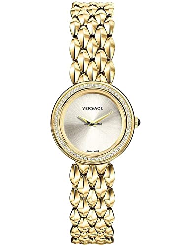 Versace Diamond Reloj Relojes Mujer Reloj vebn00918 V de Flare Oro: Amazon.es: Relojes
