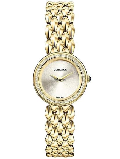 Versace Diamond Reloj Relojes Mujer Reloj vebn00918 V de Flare Oro
