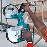 Makita XBP02Z 18V LXT Lithium-Ion Cordless Portable Band Saw, Tool Only
