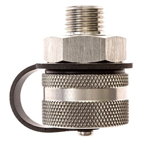 ValvoMax Oil Drain Valve - No Tools, No Mess, Fast Drain - for M12-1.75