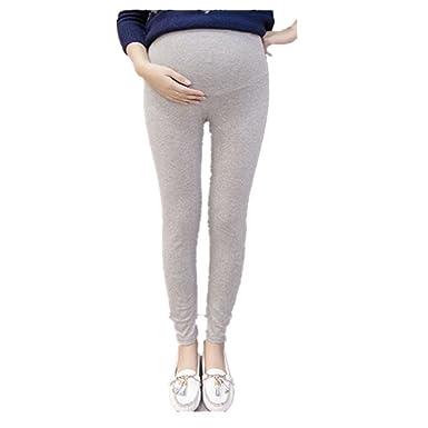 8a9636e6a QinMM Pantalones Premamá Leggings Banda para Barriga Mujer Embarazada  Maternidad  Amazon.es  Ropa y accesorios