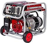 JEGS 86065 Portable Generator 5000 Starting Watts 4250 Running Watts 9 Hr. Run Time