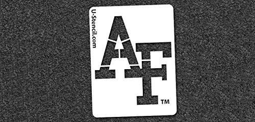NCAA Air Force Falcons 05083 Mini Stencil Craft Kit 11 x 14.5 inches
