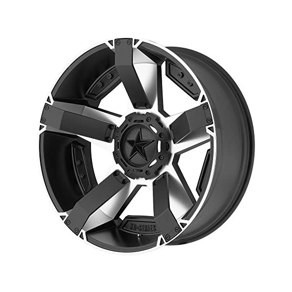XD-Series-by-KMC-Wheels-XD811-Rockstar-II-Satin-Black-Wheel-With-Machined-Accents-18x96x135-1397mm-0mm-offset