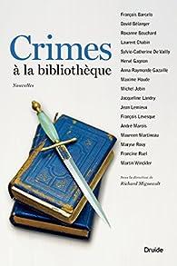 Crimes à la bibliothèque par François Barcelo