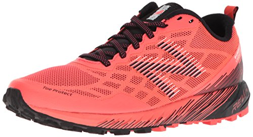 New Balance Women's Summit Unknown Trail Running Shoe, Pink/Black, 10.5 D US