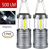 Solarice LED Outdoor Portable Camping lantern,Brigtest Light Water Resistance Battery Powered ,Camping Gear Equipment for Hiking Reading Fishing Emergencies, Hurricanes, Outages, Storms