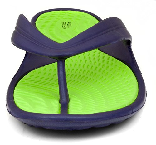 Aqua-Speed - Sandalias para mujer violett/grün