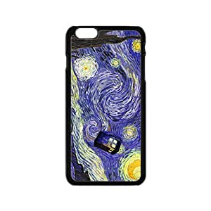 VOV Doctor Starry night painting Who Cell Phone Case for Iphone 6