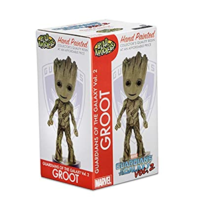 NECA - Guardians of the Galaxy 2 - Head Knocker - Groot: Toys & Games