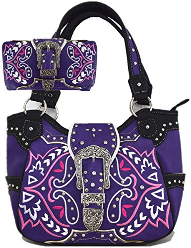 Oculto Llevar Mujeres Bohemia combo-purple