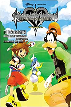 kingdom hearts chain of memories the novel light novel
