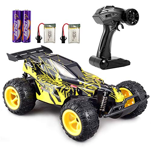 GamePath Remote Control Car – 2.4Ghz Fast Toy Car for Kids 1:22 High Speed Racing RC Cars with 2 Rechargeable Batteries…