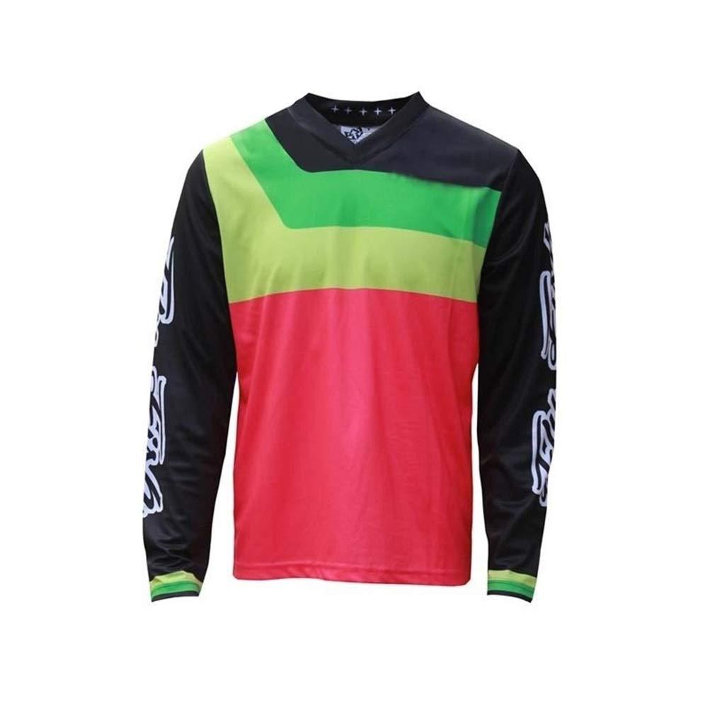 Fahrrad Reitanzug Langarm Rundhals Shirt Jersey Jacke Outdoor Offroad Motorrad Rennanzug Fahrrad Trikot LPLHJD