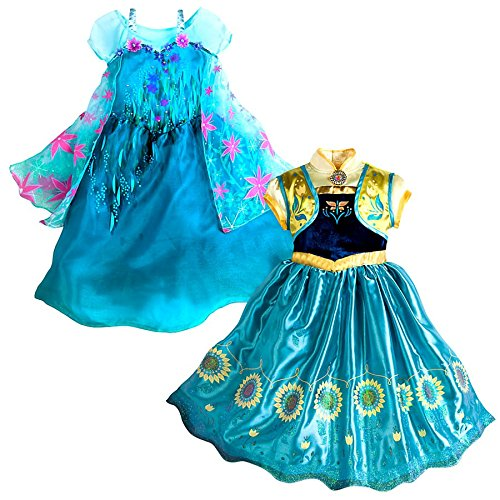 Disney Frozen Frozen Fever 2 in 1 Costume