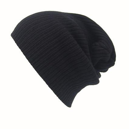 2b58f897bf3 Napoo Clearance Men s Women Beanie Knit Ski Cap Hip-Hop Winter Warm Unisex Wool  Hat