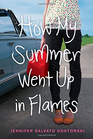 book cover of How My Summer Went Up in Flames